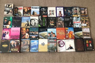Dvd boxset Collection x180