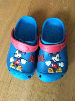 Zuecos Mickey Mouse