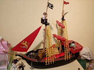 Barco pirata clicks de Playmobil