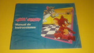 NES Tom & Jerry Nintendo Manual de instrucciones