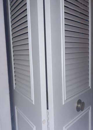 Frente armario 2 puertas dobles libro
