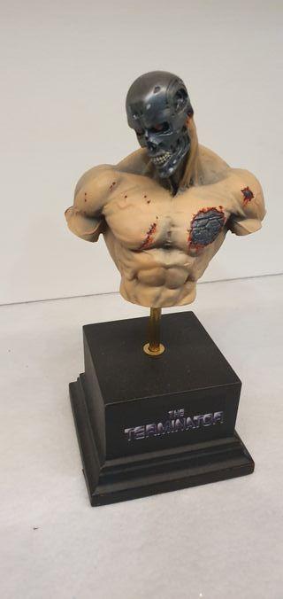 busto de resina terminator Hecho a mano