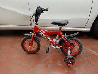 bicicleta cars Disney