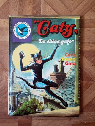 CATY - LA CHICA GATO - CATY EMMA GINA - 1985