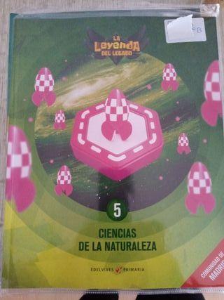 libro ciencias de la naturaleza 5P