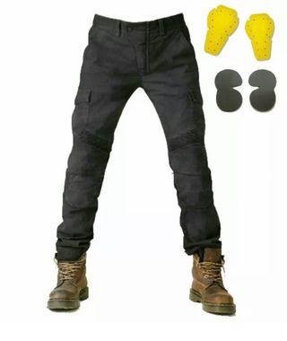 Jeans moto con protecciones
