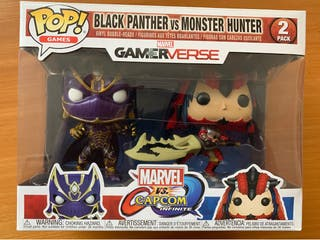 Funko pop blackpanther Vs Monster Hunter nuevo