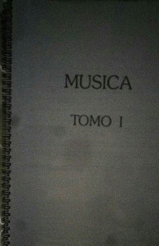 Libros, Temario Oposiciones Música Secundaria