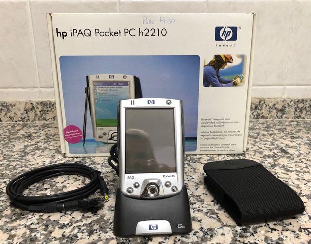 HP iPAQ Pocket Pc H2210 + GPS