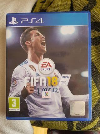 FIFA 18 PS4 (Videojuegos)