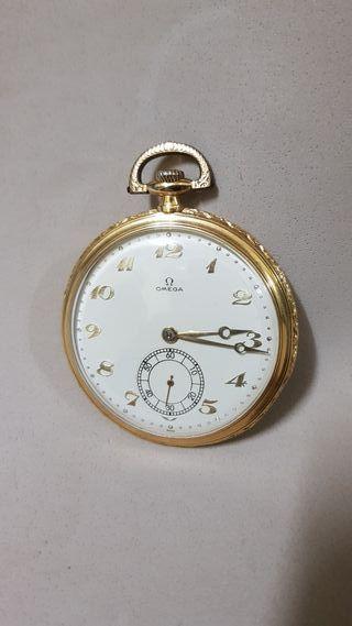 Reloj Omega bolsillo oro 18kt