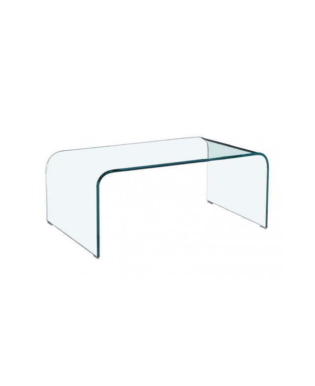 Mesa cristal de centro