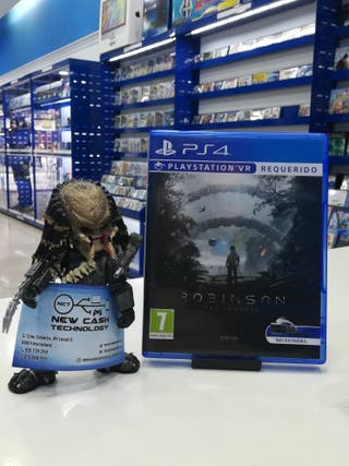 ROBINSON THE JOURNEY PS4 IMPECABLE