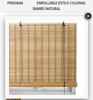 estor cortina de bambú nuevo sin estrenar tengo 3