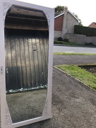 Espejo de pie GIGANTE puerta armario