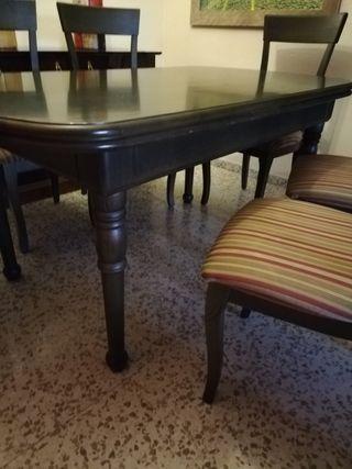Mesa de comedor +6 sillas