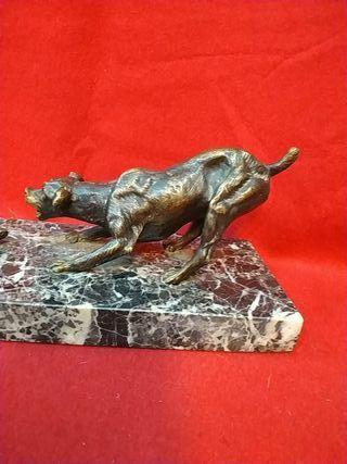 escultura bronce art deco