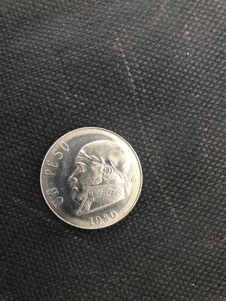 Peso mexicano moneda1980