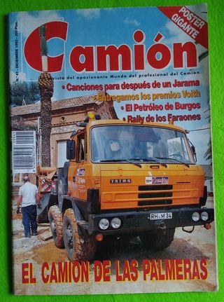 Revista Camión - número 41 (diciembre 1992)