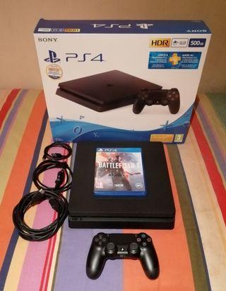 PS4 Slim + 9 juegos + factura