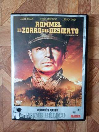 ROMMEL, EL ZORRO DEL DESIERTO - DIR. HENRY HATHAWA