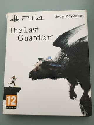 The last guardian ps4 steelbook más juegos ps1