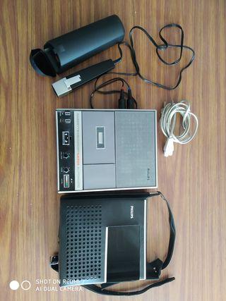 Philips N2209 automathic radio cassette grabadora