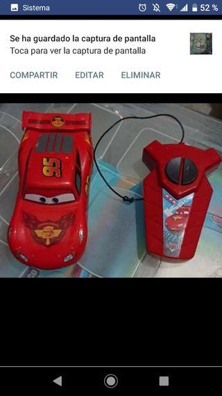 Cars, coche teledirigido