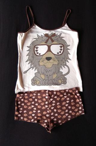 Pijama de tirantes (talla S)