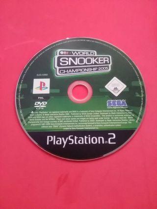 juego world snooker ps2