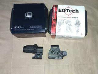 COMBO EOTECH EXPS 3-4 + G33