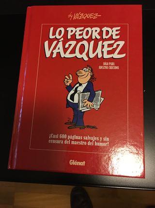 Comic 'Lo peor de Vázquez'