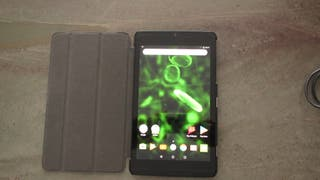 TABLET SHIELD NVIDIA K1 MAS CARGADOR Y FUNDA