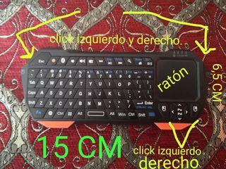 Mini teclado Bluetooth, inalámbrico