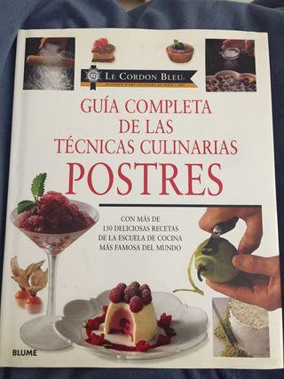 Guía completa de las técnicas culinarias: Postres