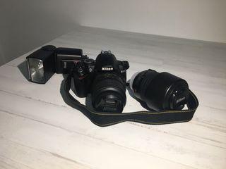 Cámara de Fotos Nikon D3000