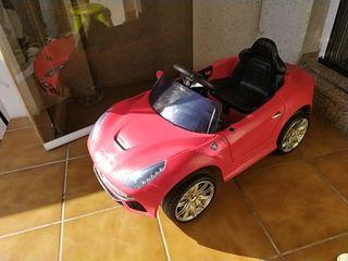 coche a bateria niño