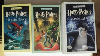 LIBROS HARRY POTTER