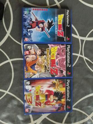 3 juegos PS2 budokai