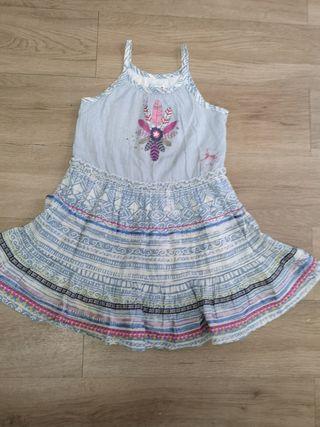 Chipie vestido étnico Niña talla 5 grande