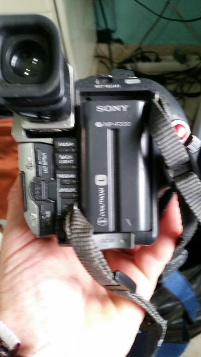 cámara de video Hi8 xR de sinta digital Effect