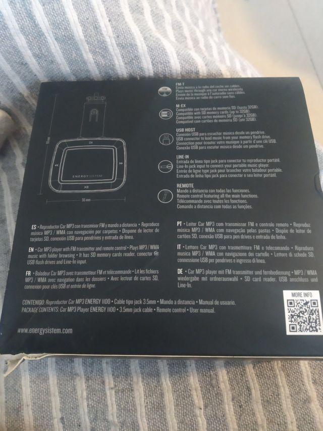 Reproductor Car MP3
