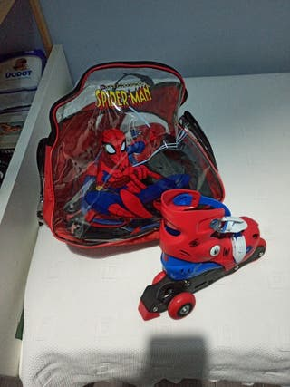 patines Spiderman talla 35-38