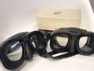 Gafas submarinismo Reef Marine y guantes