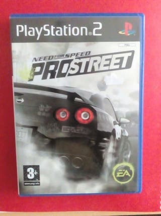 juego ps2. need for speed prostreet