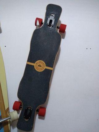 freeriding longboard Quiksilver