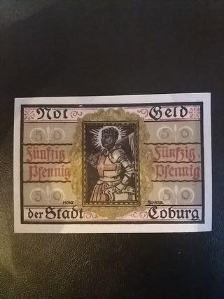 Billete Notgeld 50 Pfennig