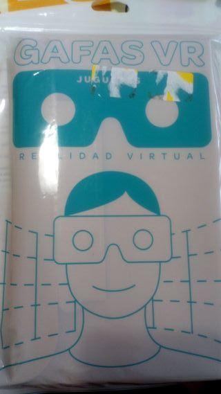 REGALO gafas realidad virtual carton