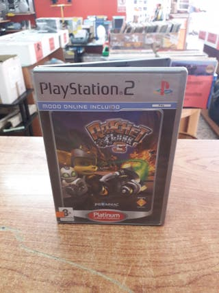 JUEGO PS2 RATCHET & CLANK 3