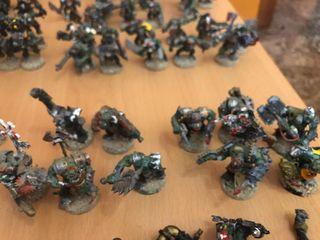 Ejército Orkos warhammer 40.000